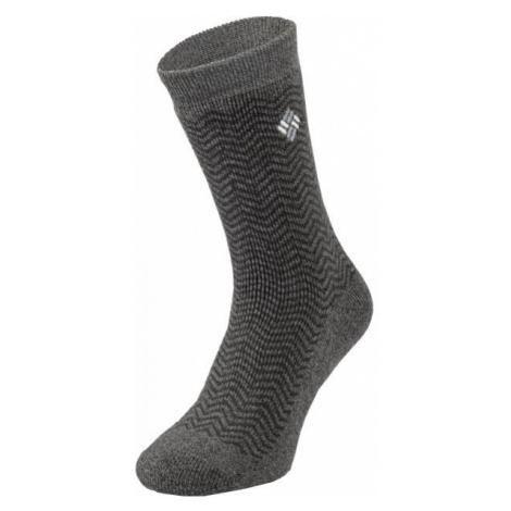 Columbia THERMAL CREW šedá - Pánske ponožky