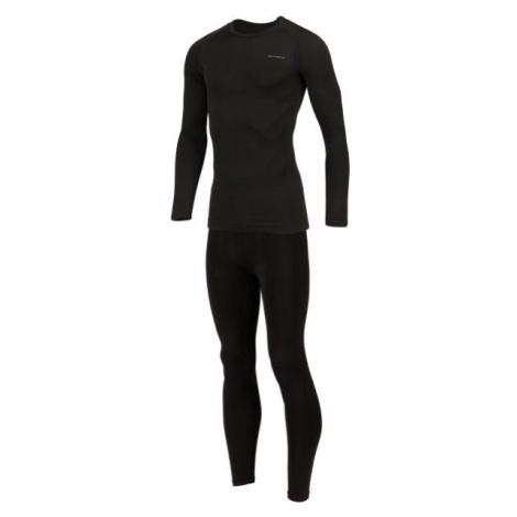 Arcore FABIAN čierna - Pánske funkčné bezšvové termoprádlo
