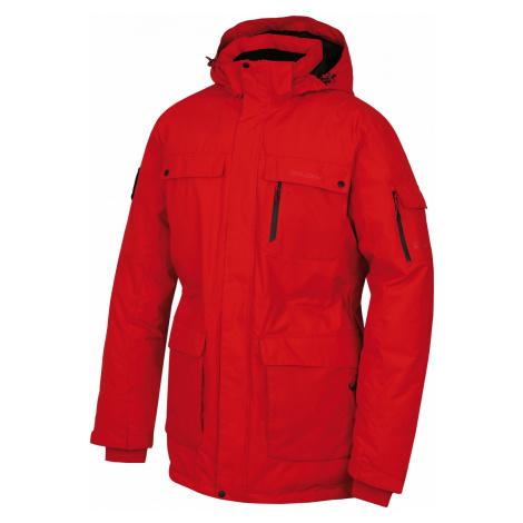 Husky Dantex červená, Pánska perová bunda