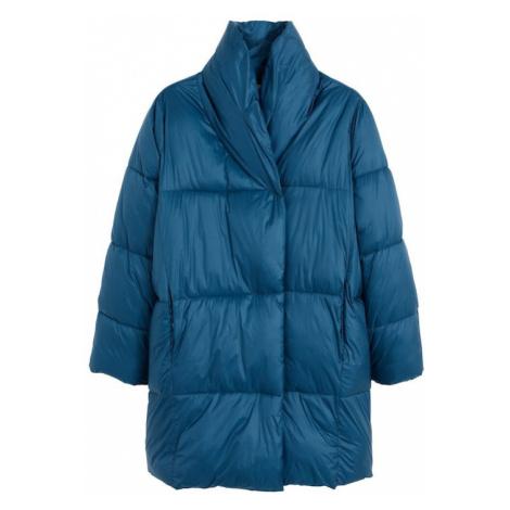MANGO Zimný kabát 'Nedalong'  kobaltovomodrá