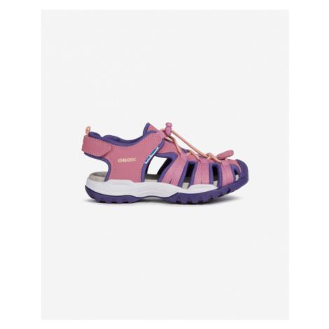 Geox Borealis Sandále detské Ružová Béžová