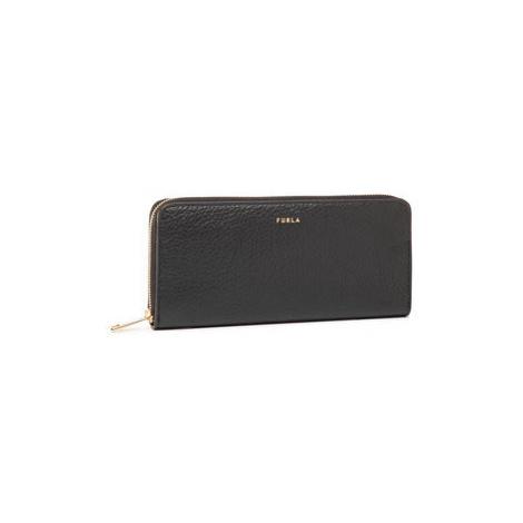 Furla Veľká dámska peňaženka Babylon PCX8UNO-HSF000-O6000-1-007-20-TN Čierna