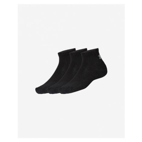 Under Armour Ponožky 3 páry Čierna