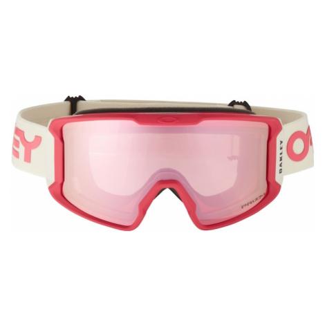 OAKLEY Športové okuliare 'Line Miner'  ružová / rubínová / biela
