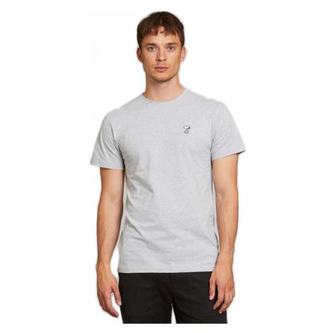 Dedicated T-shirt Stockholm Snoopy Grey Melange-XL hnedé 18193-XL