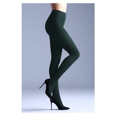 Dámske farebné pančuchové nohavice Samba 40 DEN zelená