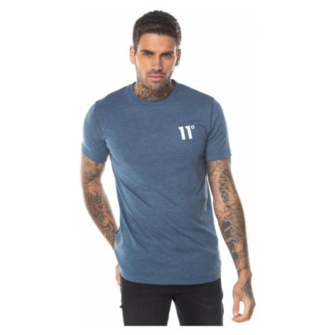 11 Degrees Core T Shirt Twister Grey