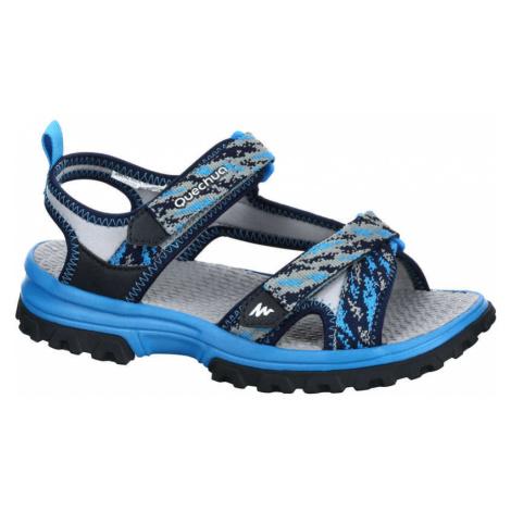 QUECHUA Detské Sandále M120 Modré