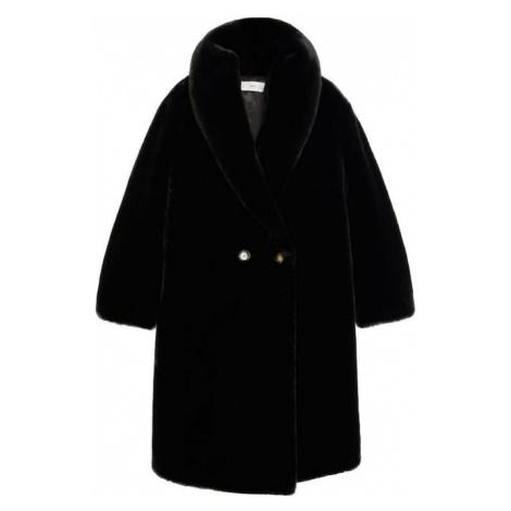 MANGO Prechodný kabát 'Chilly'  čierna