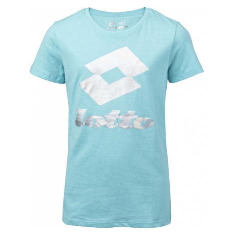 Lotto SMART G TEE JS modrá - Dievčenské tričko