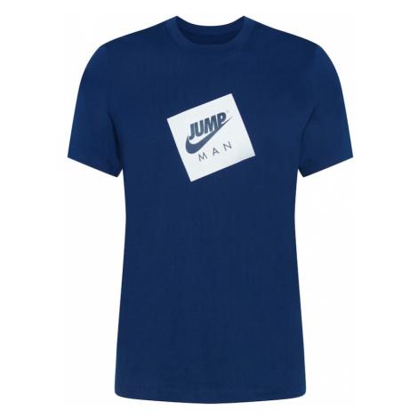 Jordan Tričko  biela / modrá