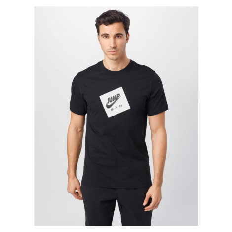 Jordan Tričko  biela / čierna