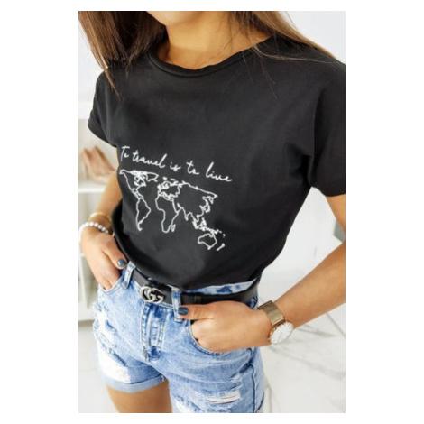 TRAVEL women's T-shirt black RY1280 DStreet