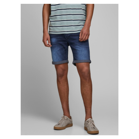 Dark Blue Denim Shorts Jack & Jones Rick