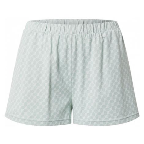 JOOP! Bodywear Pyžamové nohavice  nefritová / biela