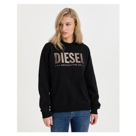 Diesel F-Ang Mikina Čierna
