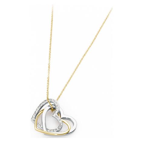 S`Agapõ Romantický náhrdelník Triniheart STH01 S'Agapõ