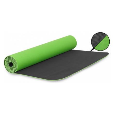Fitforce YOGA MAT 180X61X0,4 zelená - Cvičebná podložka