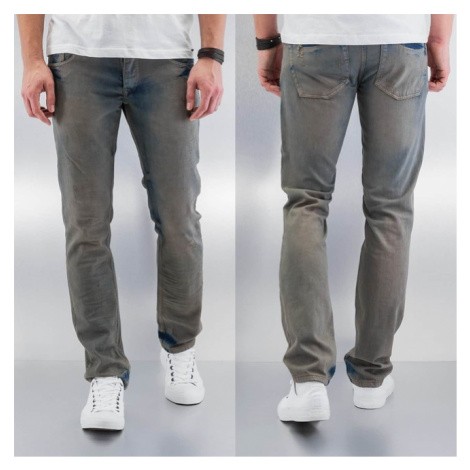Cazzy Clang Washed Straight Fit Jeans Blue - Veľkosť:30