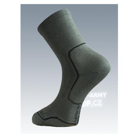 Ponožky so striebrom Batac Classic - olív