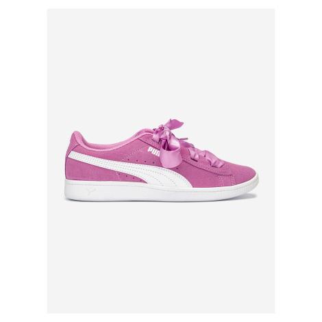 Topánky Puma Vikky Ribbon Jr Růžová