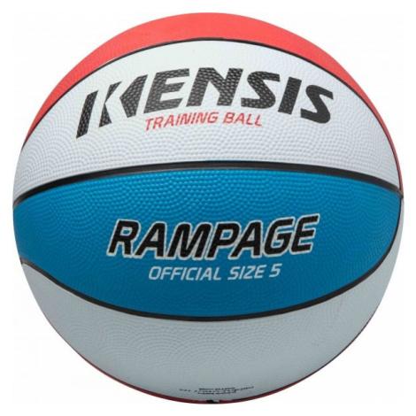 Kensis RAMPAGE5 biela - Basketbalová lopta