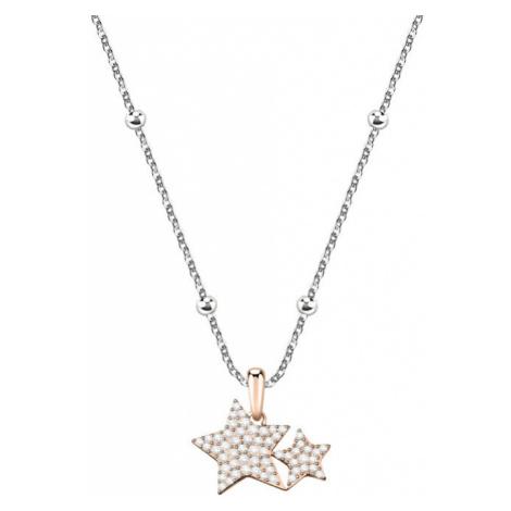 Morellato Bicolor hviezdičkový náhrdelník Love SOR17