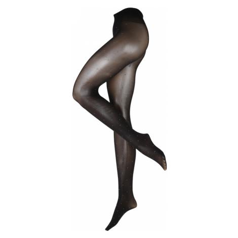 Swedish Stockings Jemné pančuchy 'Filippa'  strieborná / čierna