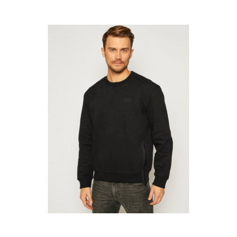 Calvin Klein Jeans Mikina J30J316682 Čierna Regular Fit