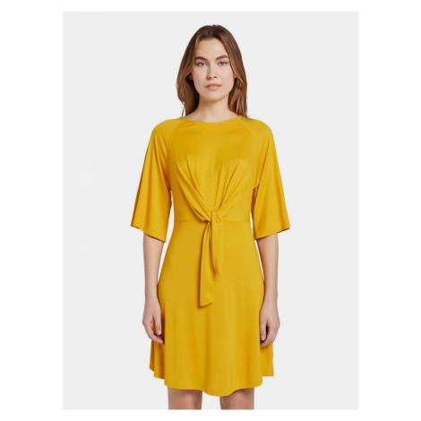 Horčicovej dámske šaty Tom Tailor