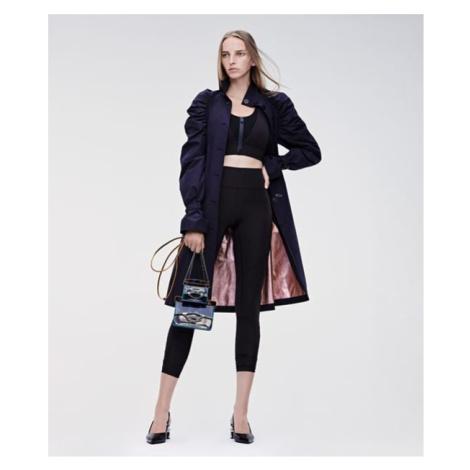 Kabát Karl Lagerfeld Draped Trench Coat