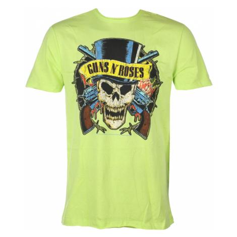 Tričko metal AMPLIFIED Guns N' Roses DEATH SKULL Čierna