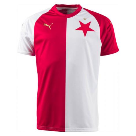 Puma SK SLAVIA HOME JSY KIDS biela - Originálny futbalový dres