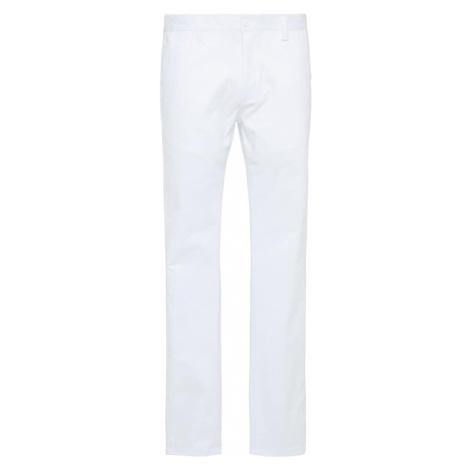 DreiMaster Maritim Chino nohavice  biela