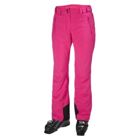 Helly Hansen LEGENDARY INSULATED PANT W ružová - Dámske lyžiarske nohavice