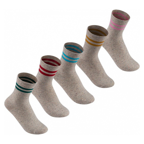 Dámske klasické ponožky Lee Cooper - 5 párov