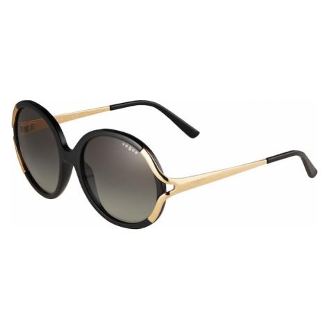 VOGUE Eyewear Slnečné okuliare  čierna / zlatá