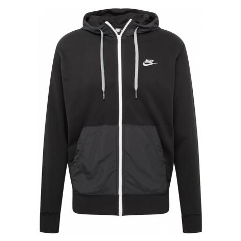 Nike Sportswear Tepláková bunda  tmavosivá / čierna