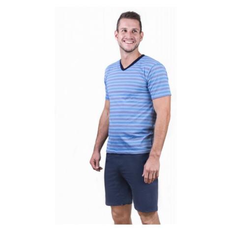Pánske pyžamo Cornette 330 - barva:COR01/svetlo modrá