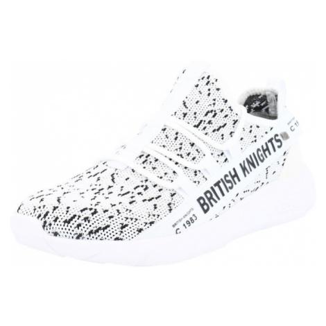 BRITISH KNIGHTS Nízke tenisky 'BENNET'  biela / krémová / čierna