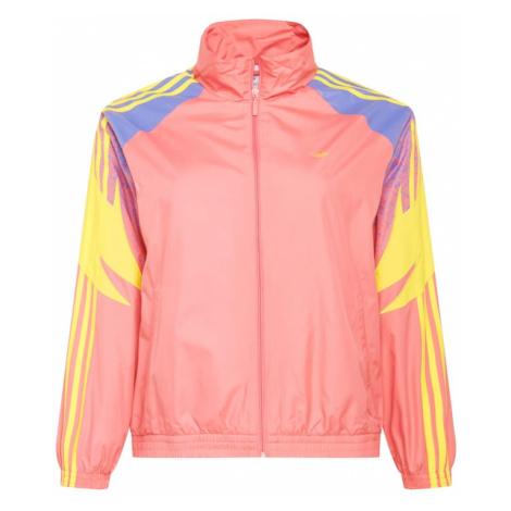 ADIDAS ORIGINALS Prechodná bunda  ružová / žltá / modrá