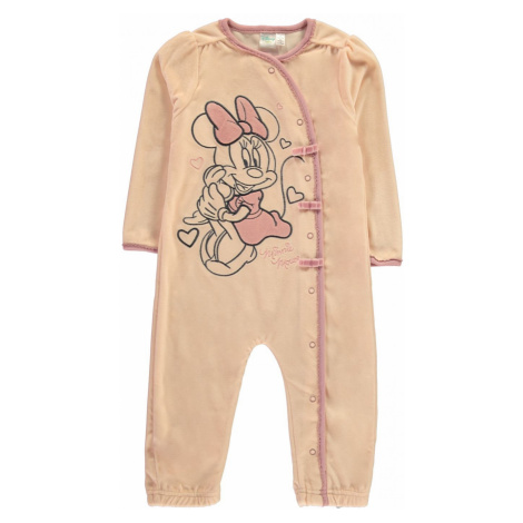 Character Velvet Sleepsuit Baby Minnie Mouse
