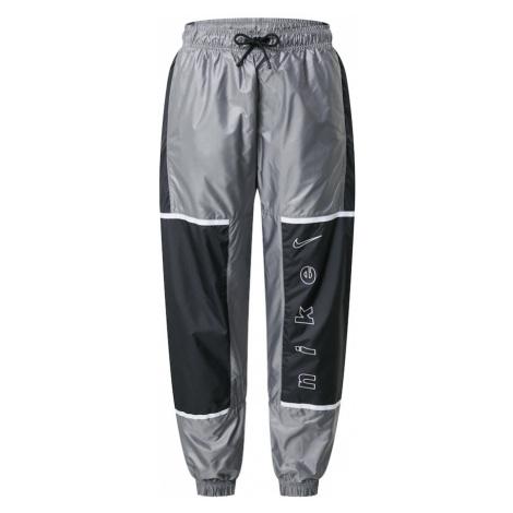 Nike Sportswear Nohavice  čierna / sivá
