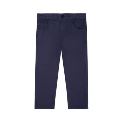 Guess Bavlnené nohavice N01B01 W7RQ0 Tmavomodrá Regular Fit