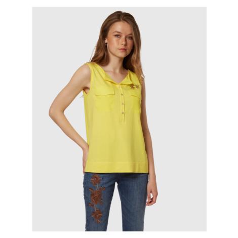 Košeľa La Martina Woman Shirt Sleeveless Viscose