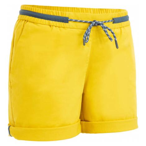 TRIBORD Dámske šortky Sailing 100 žlté
