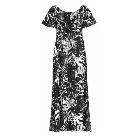 Dlhé šaty s riasením