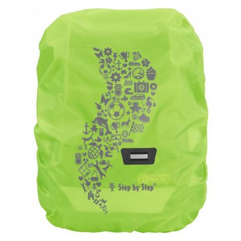 Pláštenka pre školskú aktovku alebo batoh Zelená