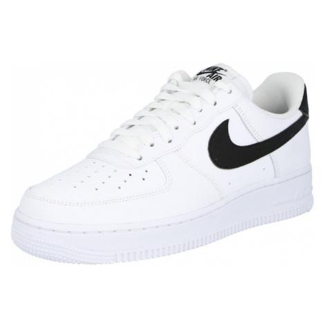 Nike Sportswear Nízke tenisky 'Air Force 1 '07'  biela / čierna