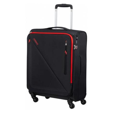 American Tourister Kabínový cestovný kufor Lite Volt Spinner 44,5 l -  BLACK/RED